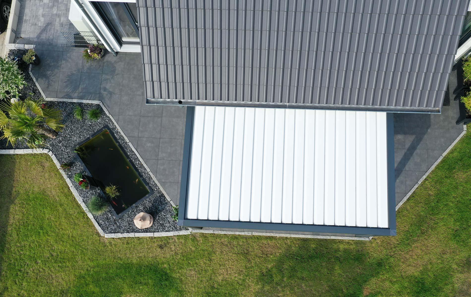 Lamellen dach von Lebsack