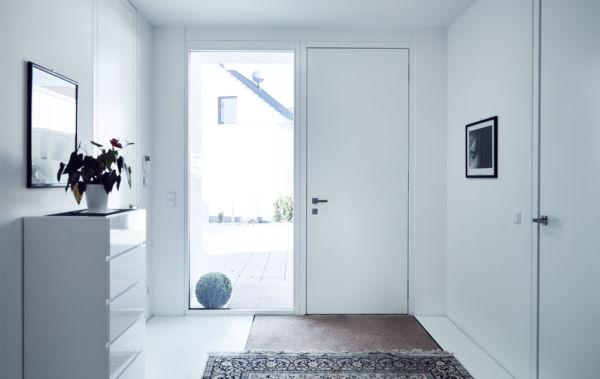 Lebsack und Söhne Ingelfingen Anthrazit Holz-Alu Haustüre