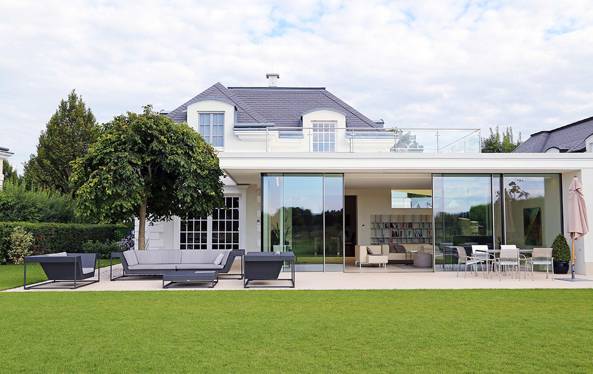 Rahmenlose Schiebefenster von Lebsack