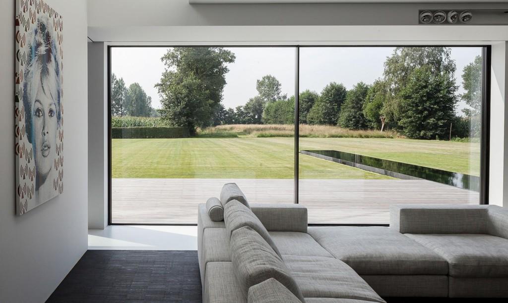 Montage Fensterfront