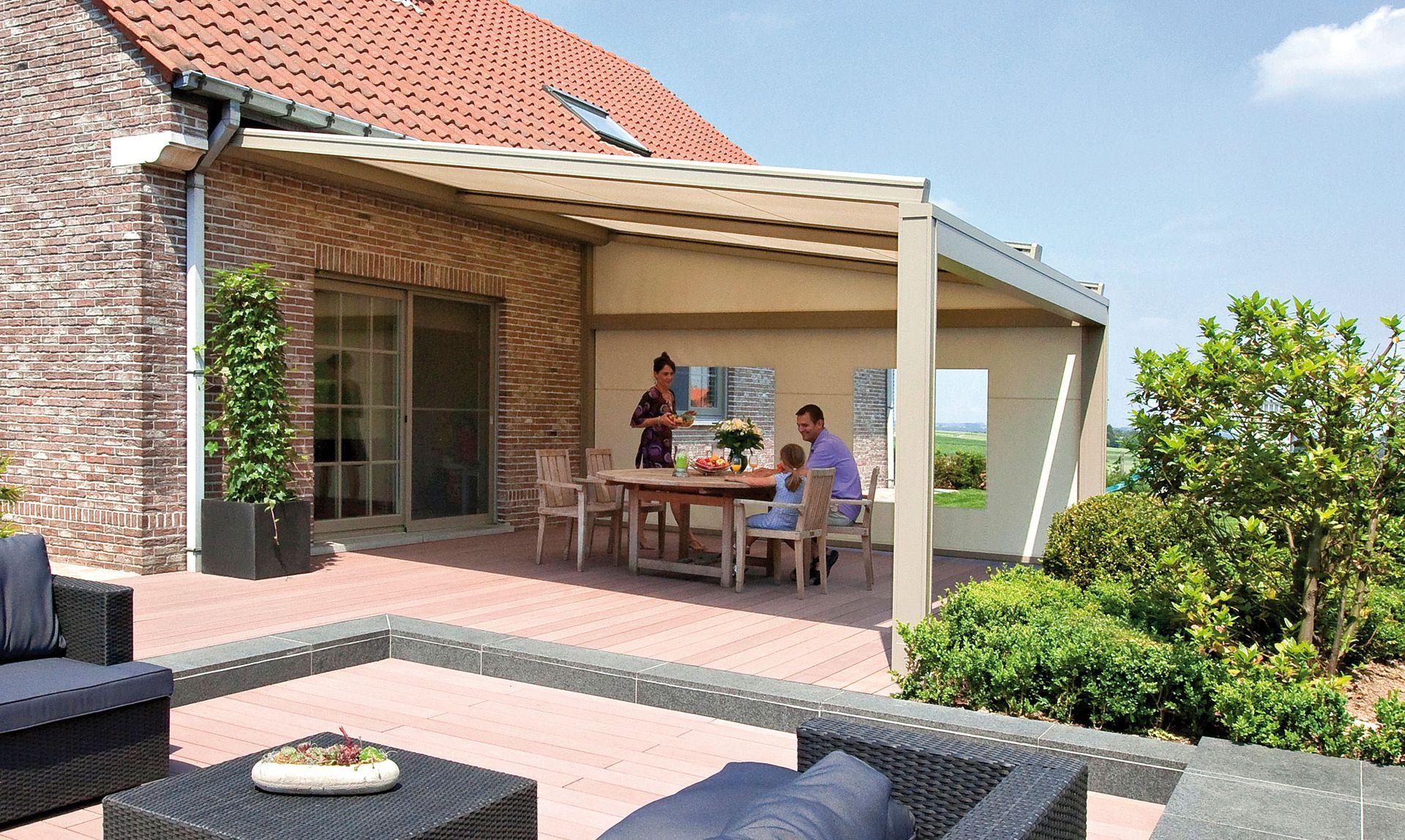Terrasse Sonnenschutz