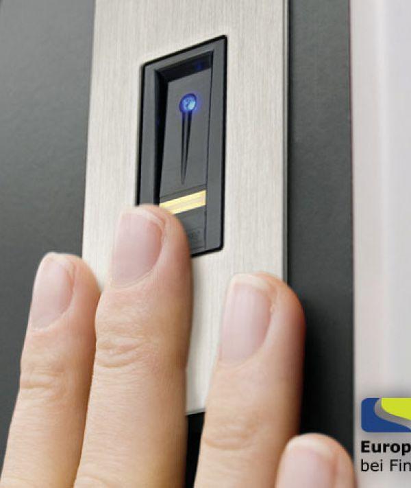 Fingerscanner bei Türen