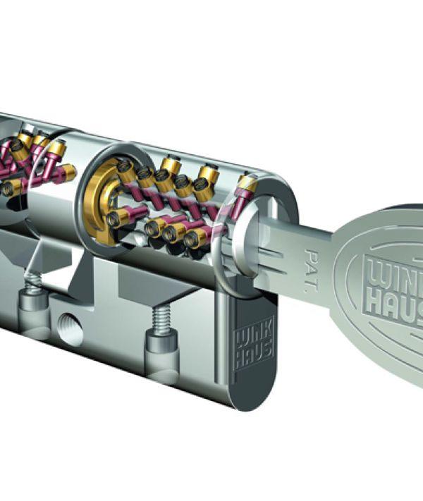 Sicherheitszylinder bei Türen