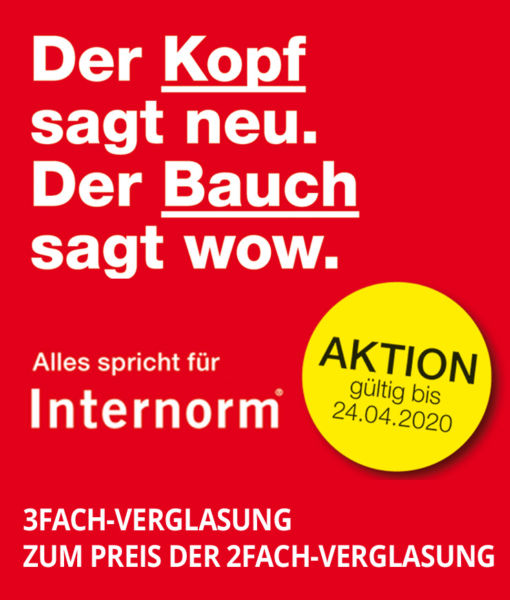 Aktion Internorm Lebsack in Ingelfingen