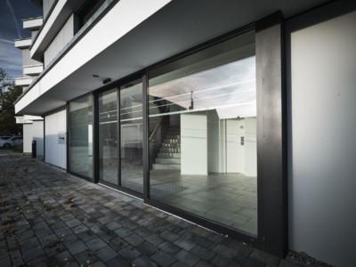 Kunststoff-Alu Fenster Außenansicht