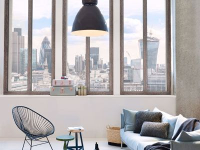 Holz-Alu Fenstertype