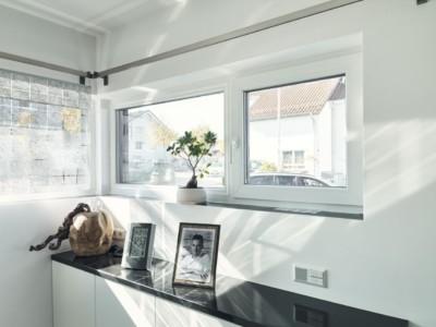 Kunststoff-Alu Fenster