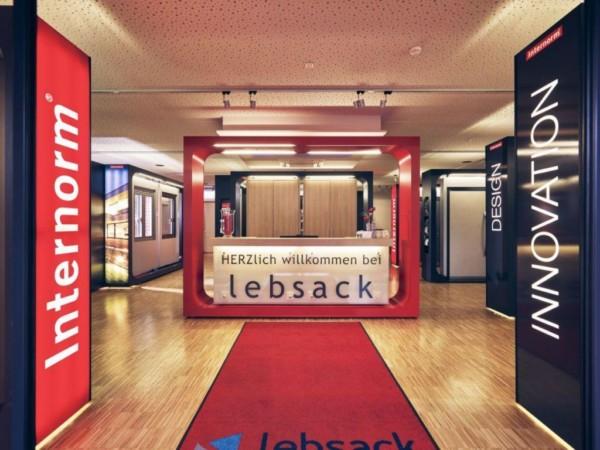 Internorm Ausstellung Lebsack