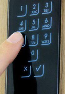Codetastatur bei Türen
