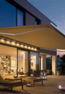 LED Beleuchtung Markisen Sonnenschutz
